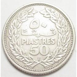 50 piastres 1952