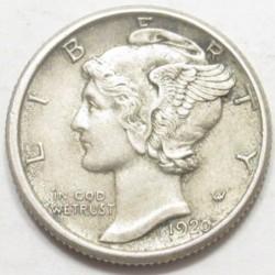 Mercury dime 1920 D