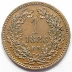 1 kreuzer 1886 KB