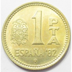1 peseta 1982 - 1982 FIFA World Cup