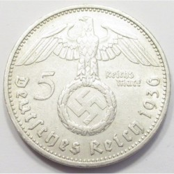 5 reichsmark 1936 A
