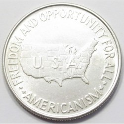 half dollar 1952 - Booker T. Washington and George Washington Carver