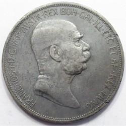 5 corona 1909