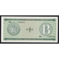 1 peso 1985 - B