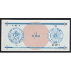 1 peso 1985 - C