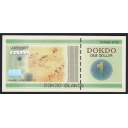 1 dollar 2012 - Dokdo Islands