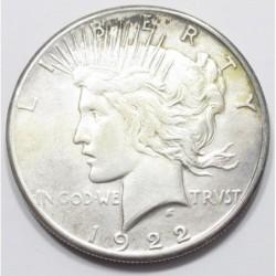 Peace dollar 1922 S