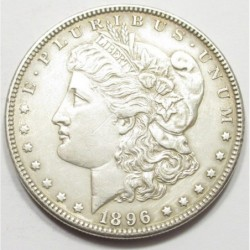 Morgan dollar 1896