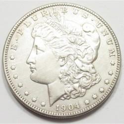 Morgan dollar 1904 S