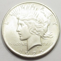 Peace dollar 1925