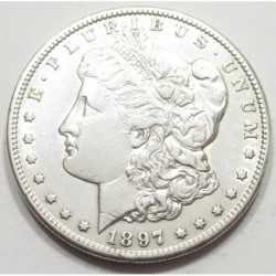 Morgan dollar 1897 S