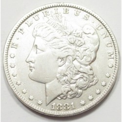 Morgan dollar 1881