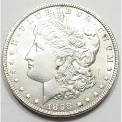 Morgan dollar 1898