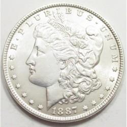 Morgan dollar 1887