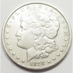 Morgan dollar 1878 S