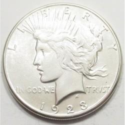 Peace dollar 1923 S