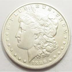 Morgan dollar 1886 O