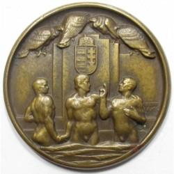 Berán Lajos: 25th anniversary of the Hungarian Swimming Association 1932