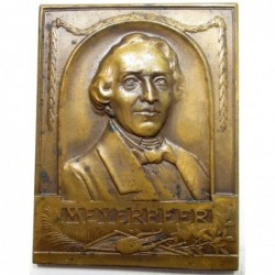 In memory of Giacomo Meyerbeer, German opera composer