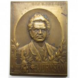 In memory of Bj?rnstjerne Bj?rnson, a Nobel Prize-winner Norwegian writer