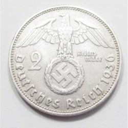 2 reichsmark 1936 D