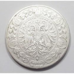 5 corona 1900