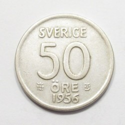 50 öre 1956