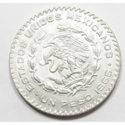 1 peso 1966