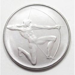 100 lire 1980 - Moscow Olympics - Archery
