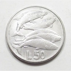50 lire 1975 - Fishes