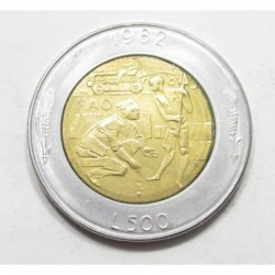 500 lire 1982 - FAO