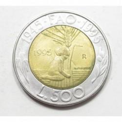 500 lire 1995 - FAO