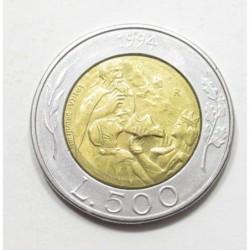 500 lire 1994 - Donna Felicissima