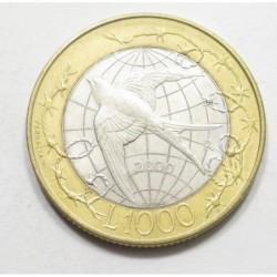 1000 lire 2000 - Liberty