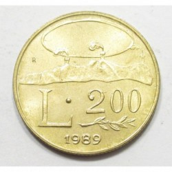 200 lire 1989 - Sixteen centuries of history