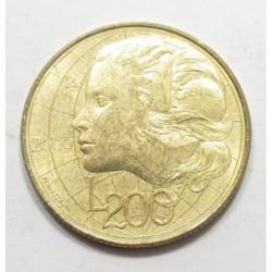 200 lire 2000 - Das Wissen