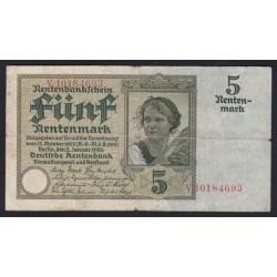 5 rentenmark 1926