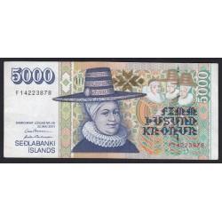 5000 kronur 2001