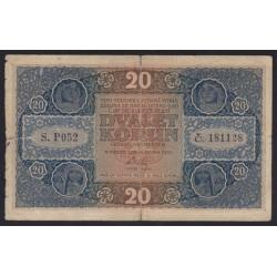 20 korun 1919