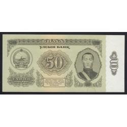 50 tugrik 1966