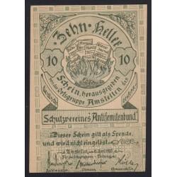 10 heller 1920 - Amstetten / Antisemitenbund