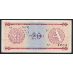 20 pesos 1985 A