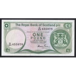 1 pound 1982 - Royal Bank of Scotland