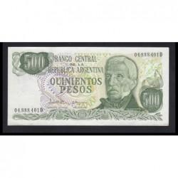 500 pesos 1982