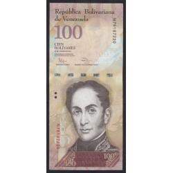 100 bolivares 2012