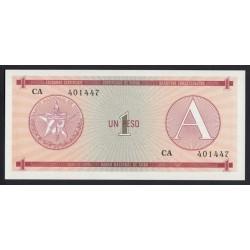 1 peso 1985 - Váltó utalvány