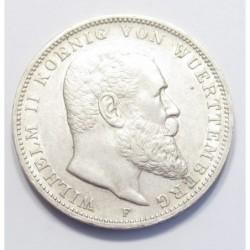 3 mark 1909 F - Wüerttemberg