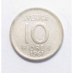 10 öre 1961