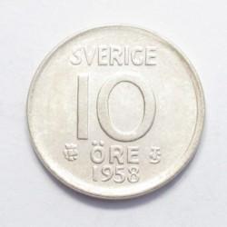 10 öre 1958