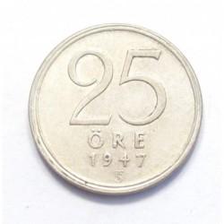 25 öre 1947